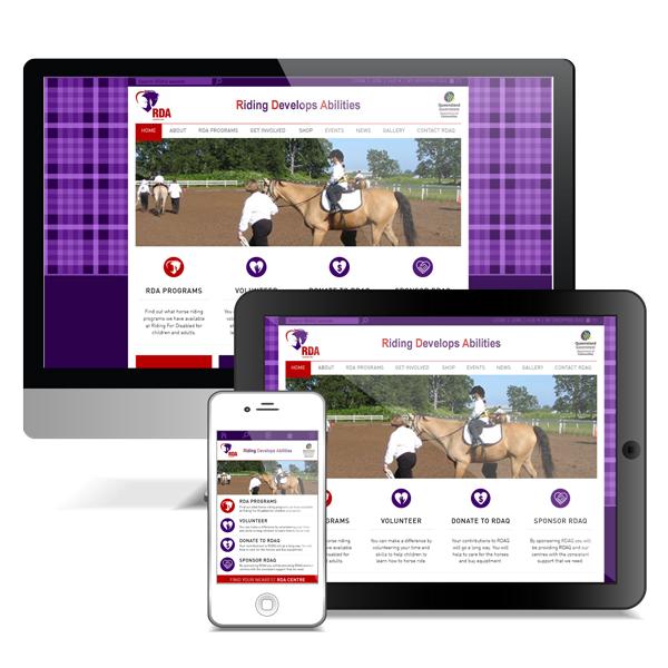 RDAQ Responsive Website Design by Puro Design