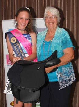 3. 2014 Junior Winner Tori Mansfield