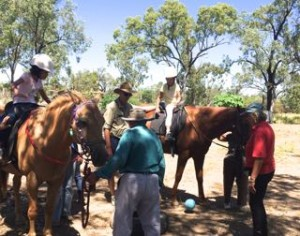 Gemfields Paula and riders RDA enjoying activities