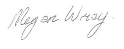 Megans Signature
